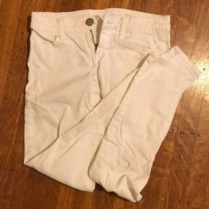American eagle white jeans/jeggings
